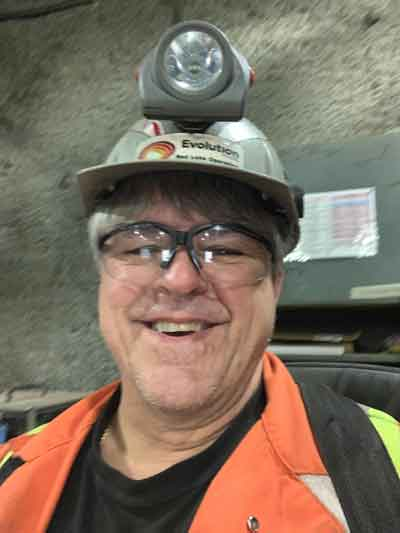 Vic Zajarny found out he won June's Thunder Bay 50/50 while at work in a mine in Red Lake. He's taking home June's $481,085 jackpot.