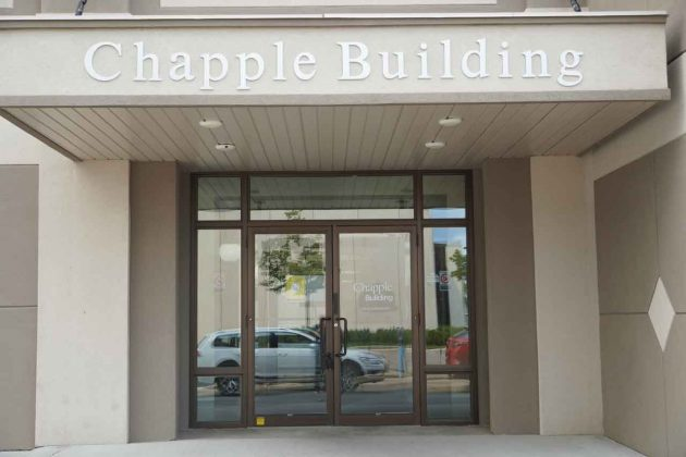 The historic Chapple Building continues forward in a positive way