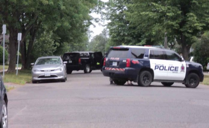 Thunder Bay Police on Scene at Norah