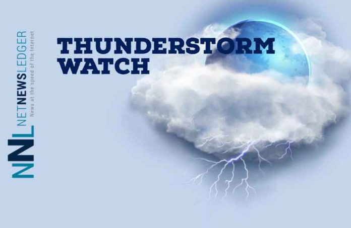 Thunderstorm watch
