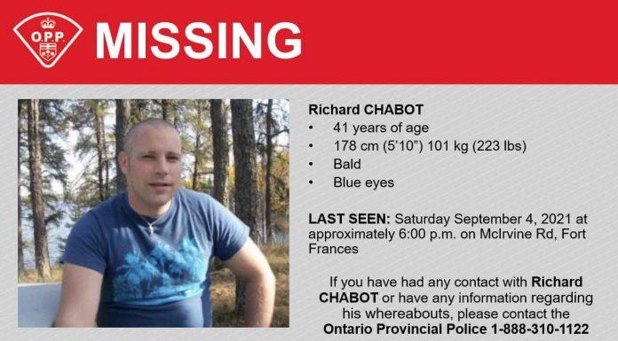 Missing Richard Chabot